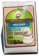 Frozen Wasabi Hot Chocolate